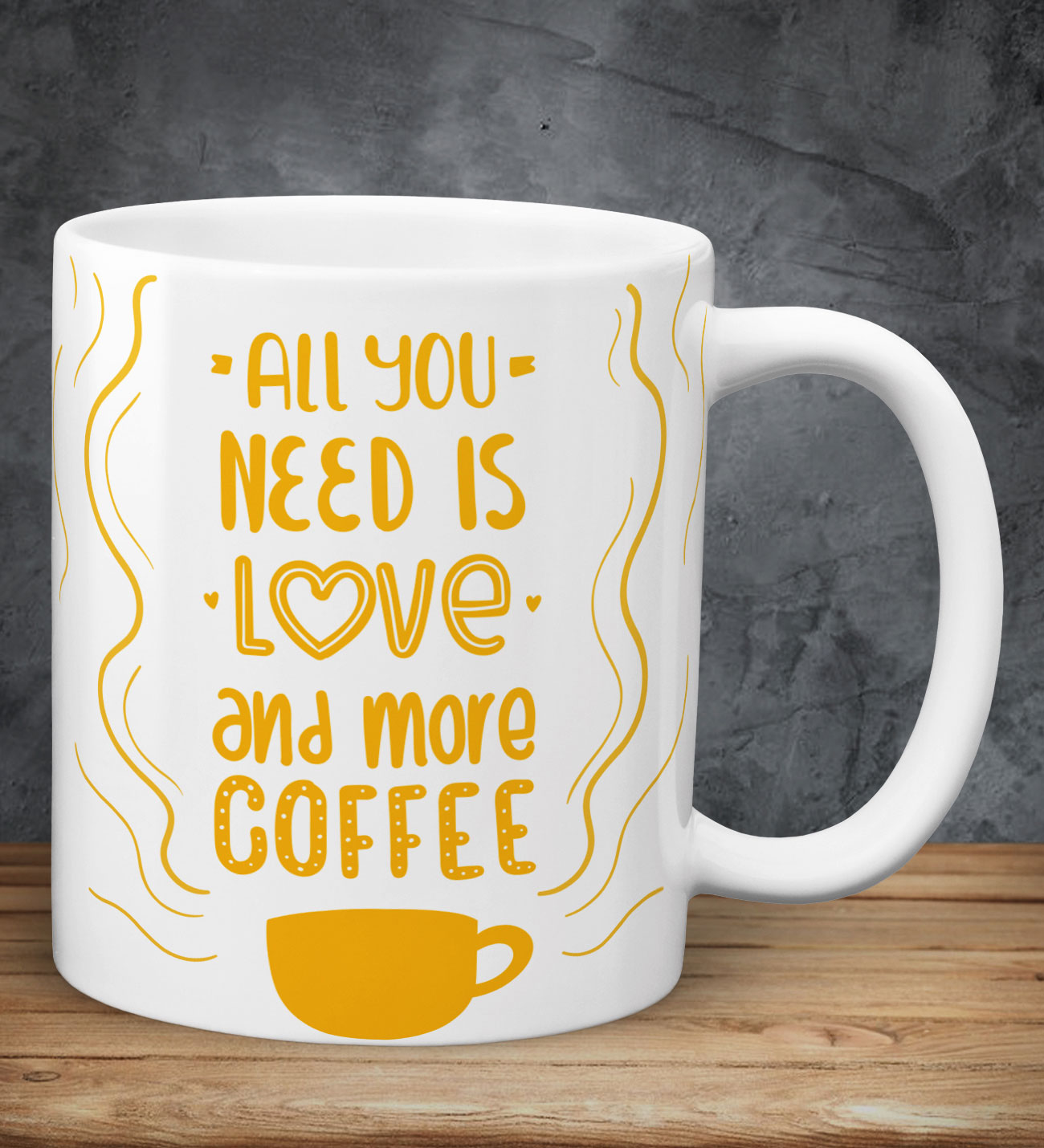 All You Need Is Love Coffee Kupa