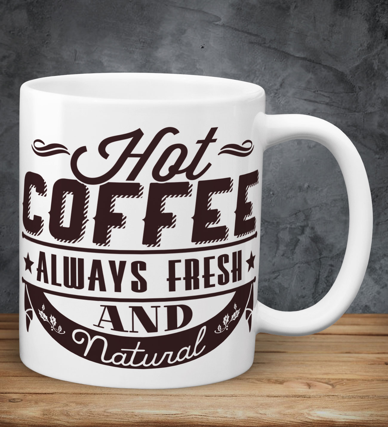 Hot Coffee Always Fresh